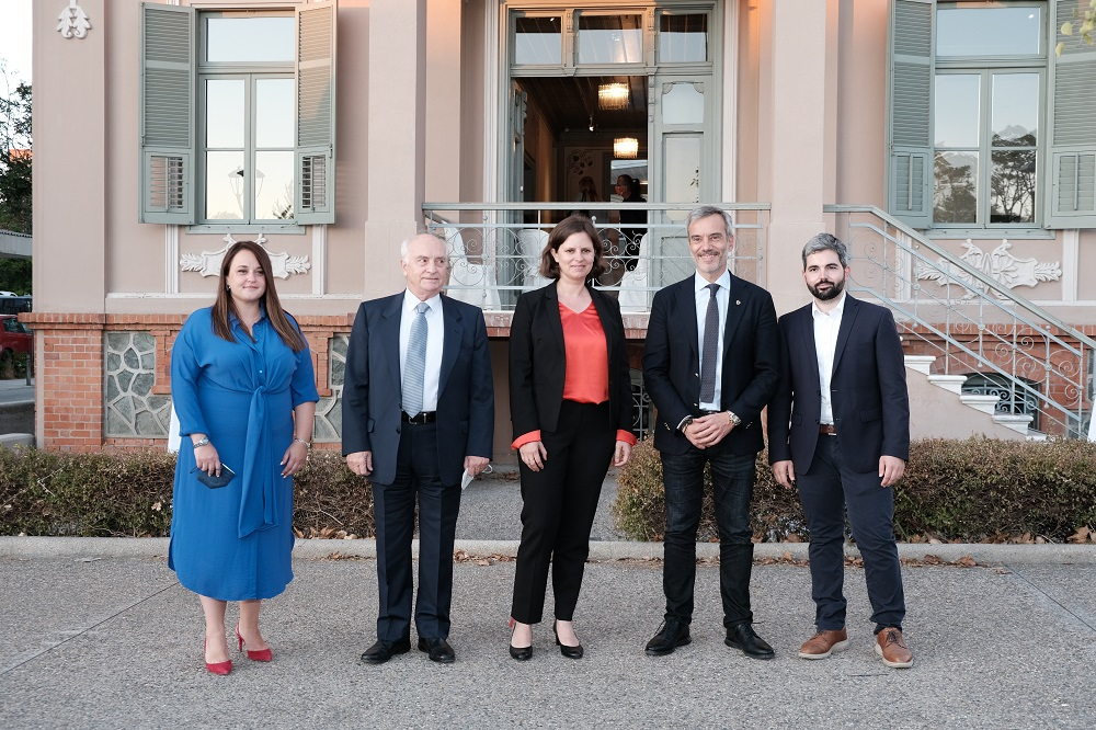 Εγκαινιάστηκε το γραφείο του Ελληνογερμανικού Ιδρύματος Νεολαίας στη Θεσσαλονίκη