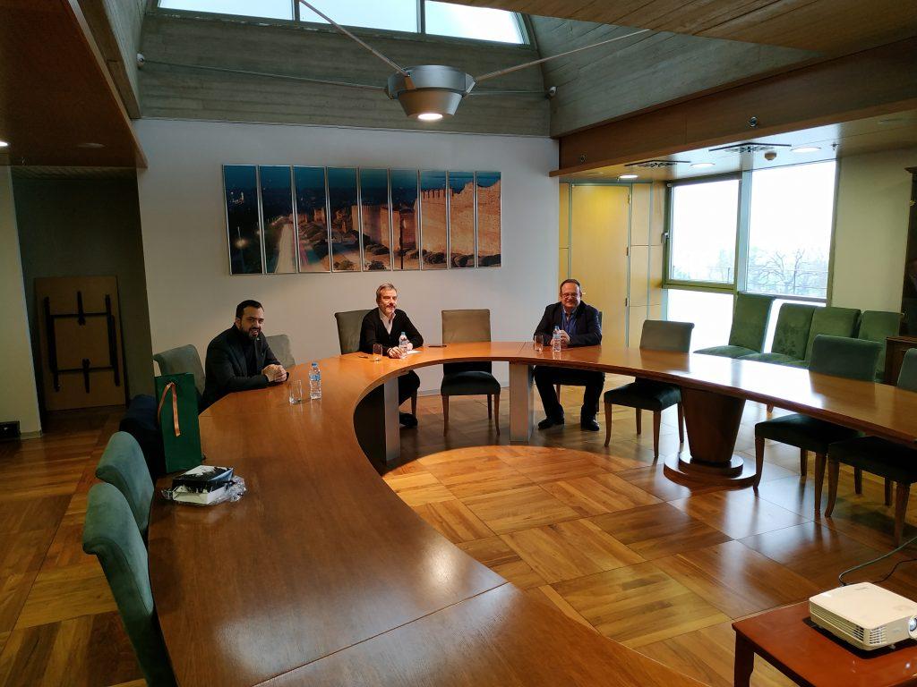 Υπογραφή μνημονίου συνεργασίας και συναντίληψης του Δήμου Θεσσαλονίκης και της Δ.Ε.Θ Α.Ε.