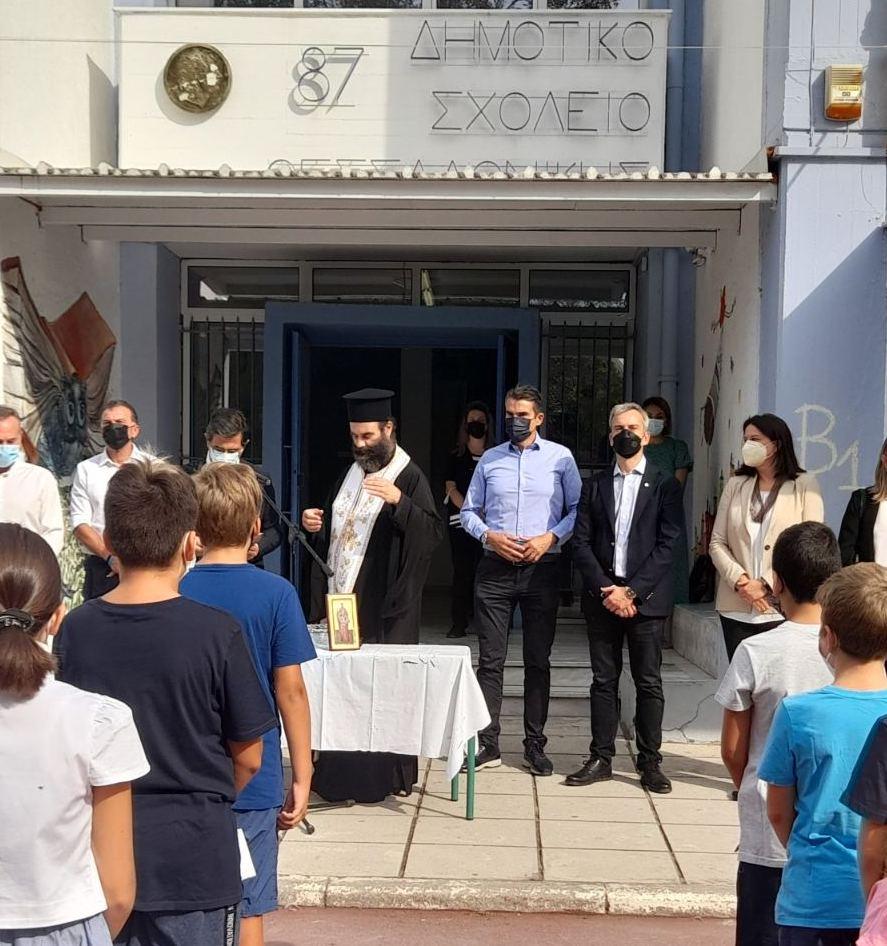 Κ. Ζέρβας: Ο Δήμος Θεσσαλονίκης δίπλα σε μαθητές, γονείς και εκπαιδευτικούς