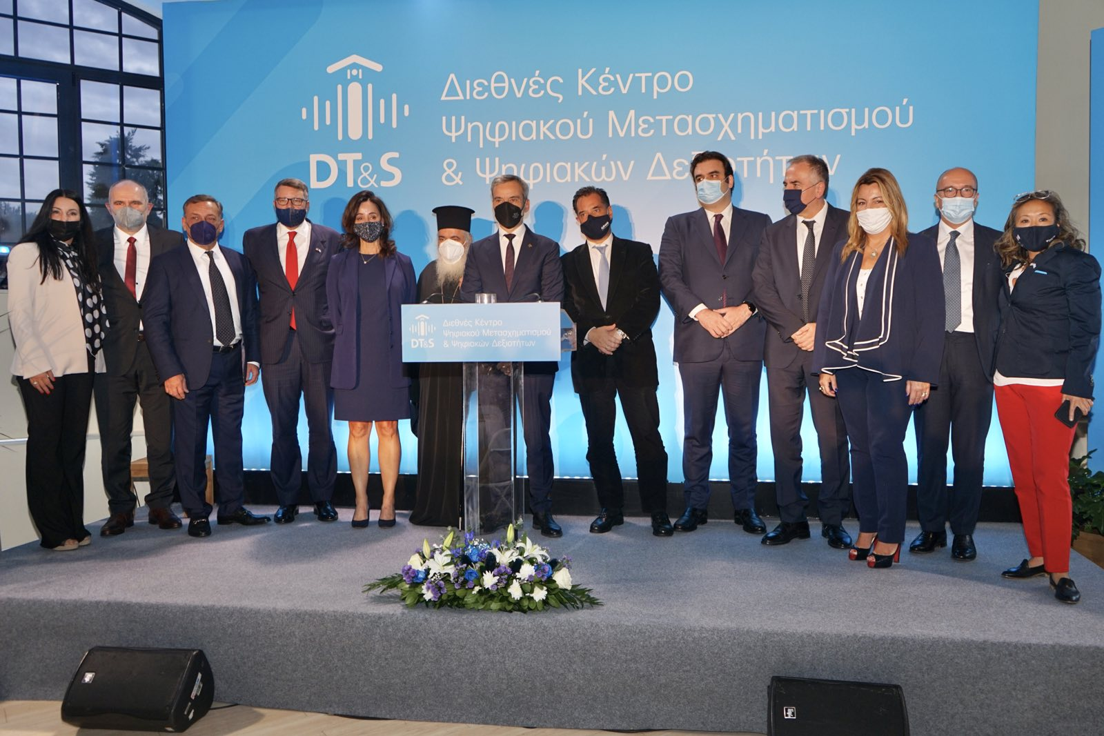 Κωνσταντίνος Ζέρβας στα Εγκαίνια του Διεθνούς Κέντρου Ψηφιακού Μετασχηματισμού και Ψηφιακών Δεξιοτήτων στη Θεσσαλονίκη : «η Θεσσαλονίκη αλλά και η Βόρεια Ελλάδα θα βρίσκονται στον διεθνή επενδυτικό, εκπαιδευτικό, ψηφιακό χάρτη του μέλλοντος»