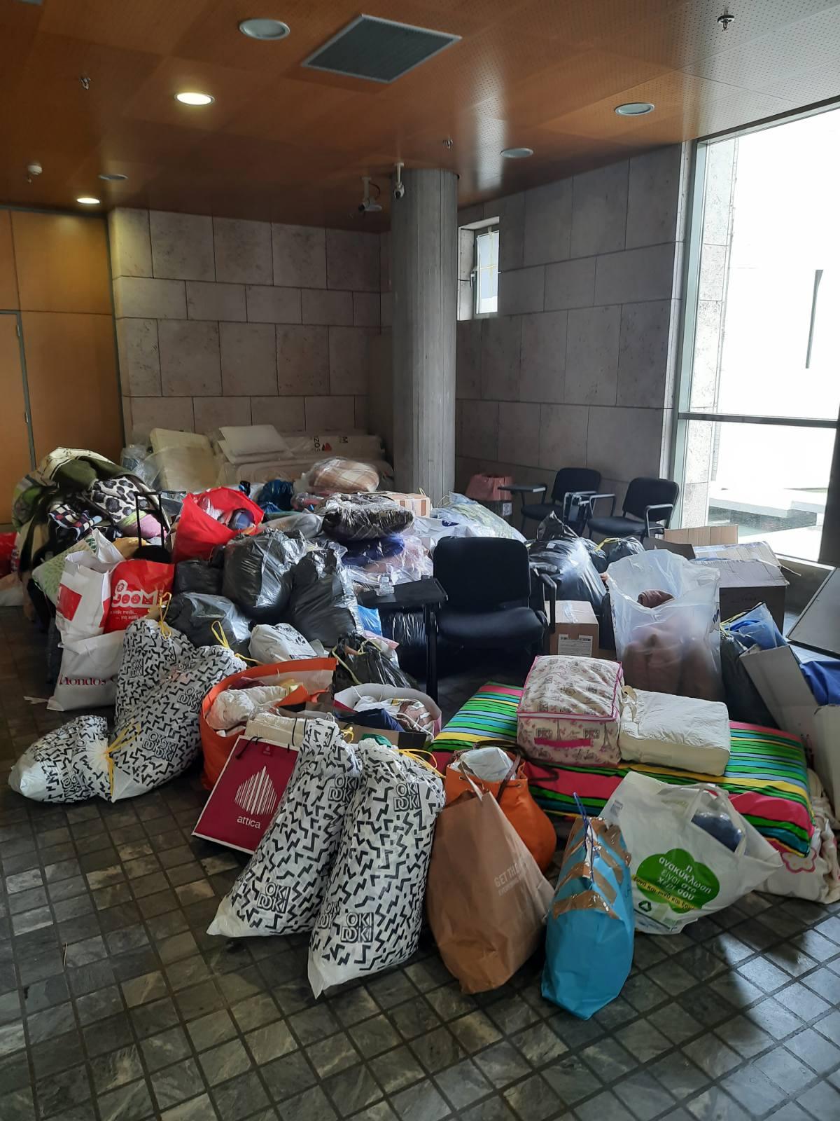 Γιγαντώνεται το κύμα αλληλεγγύης – Στις πυρόπληκτες περιοχές το πρώτο μέρος της βοήθειας του Δήμου Θεσσαλονίκης