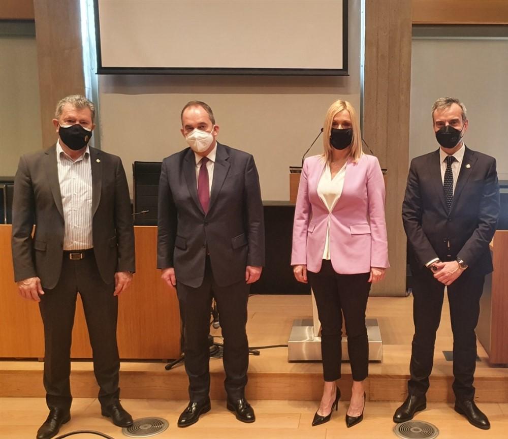 Συνάντηση του Δημάρχου Θεσσαλονίκης Κ. Ζέρβα με τον Υπουργό Ναυτιλίας και Νησιωτικής Πολιτικής Γιάννη Πλακιωτάκη