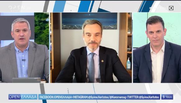 Συνέντευξη στην εκπομπή OPEN Ελλάδα του ΟΡΕΝ