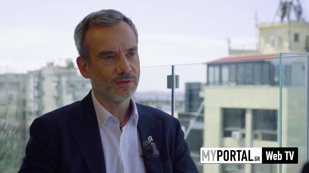 Συνέντευξη στο WebTV του MyPortal.gr