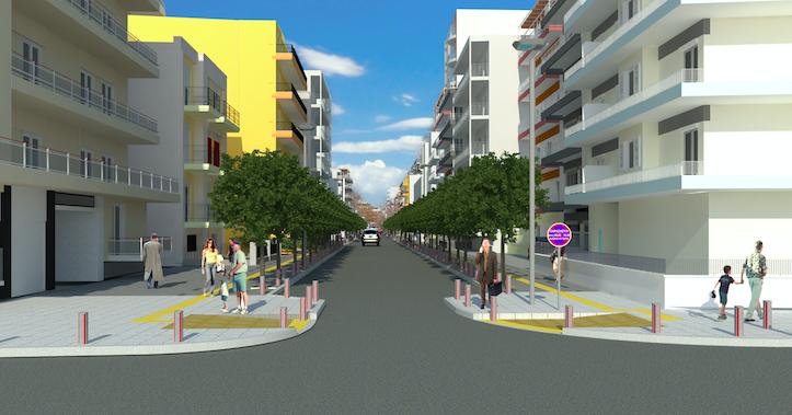 Σε τροχιά υλοποίησης το εκτεταμένο πρόγραμμα αναπλάσεων στις γειτονιές  - Έναρξη έργων από την οδό Χαλκιδικής