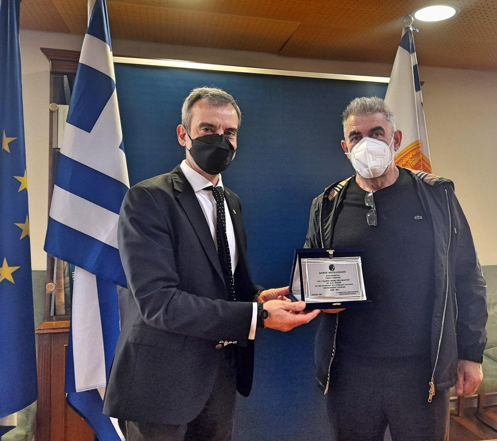 Κ. Ζέρβας: Η Θεσσαλονίκη διψάει για διακρίσεις στον αθλητισμό
