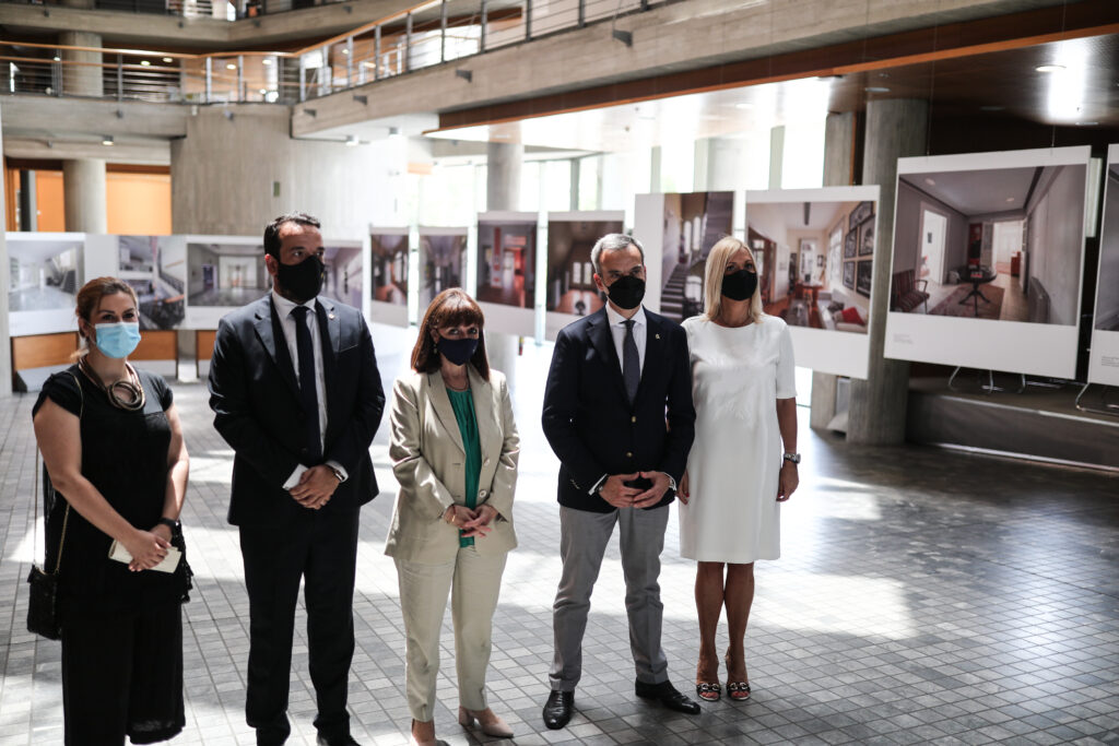 Επίσκεψη της Προέδρου της Δημοκρατίας Κατερίνας Σακελλαροπούλου στο Δημαρχείο Θεσσαλονίκης