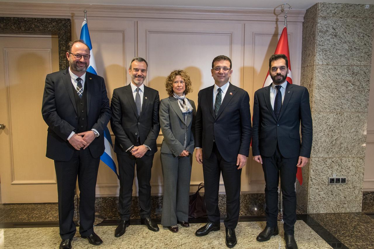 Ολοκληρώθηκαν οι συναντήσεις του Κ. Ζέρβα στην Κωνσταντινούπολη. Θετικό το κλίμα με Ιμάμογλου.