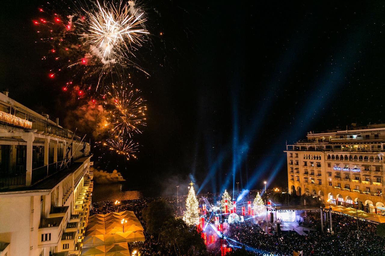 Πρωτοχρωνιάτικες ευχές δημάρχου θεσσαλονίκης