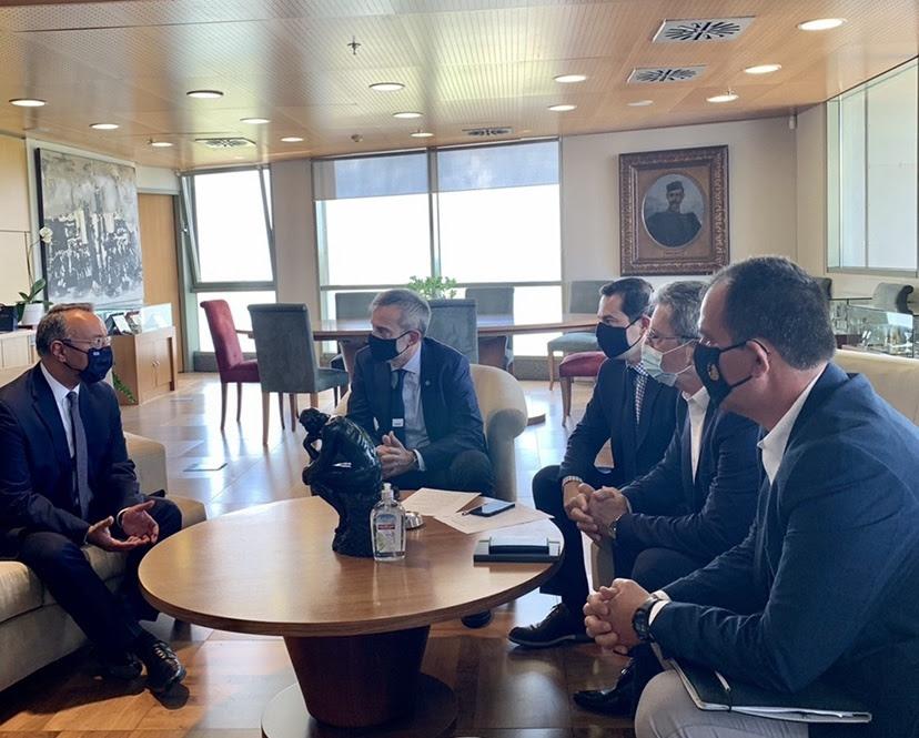 Συνάντηση του Δημάρχου Θεσσαλονίκης Κωνσταντίνου Ζέρβα με τον Υπουργό Οικονομικών Χρήστο Σταϊκούρα